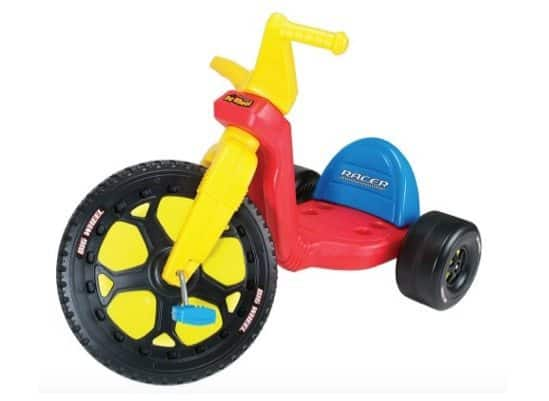 "Original 16"" Big Wheel Ride-On Only $34.43"