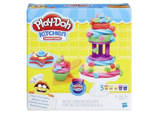 Play-Doh Kitchen Creations Frost 'n Fun Cakes Only $4.88