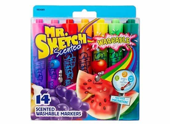 Mr. Sketch Washable Scented Markers Only $4.96