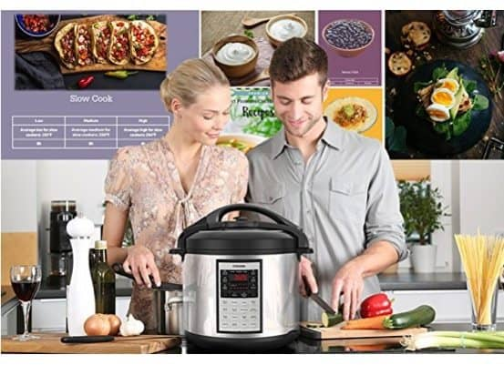 Cosori 6 Qt Premium 8-in-1 Programmable Multi-Cooker Only $64.99 ~ 8QT Only $83.49