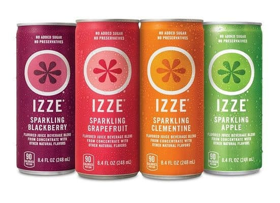24-Pack IZZE Fortified Sparkling Juice $11.19 Shipped **Only 46¢ Per Can**