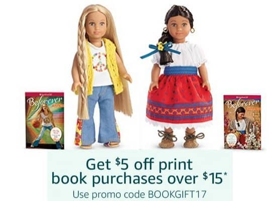 Amazon: $5 Off $15 Book Purchase ~ American Girl Mini Doll & Book Sets as low as $10.31