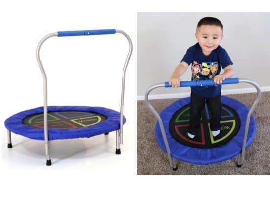 "Skywalker Trampolines Bounce-N-Learn 36"" Round Trampoline Bouncer Only $14.60"