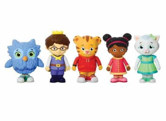Daniel Tiger's Neighborhood Friends Figures Set Only $7.58