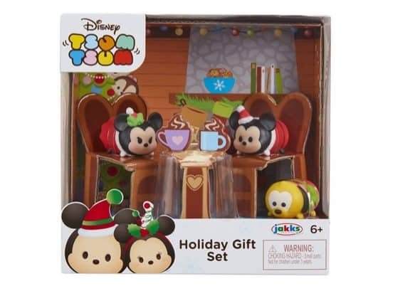 Tsum Tsum Exclusive Holiday Mickey & Minnie Gift Set Playset Only $7.92
