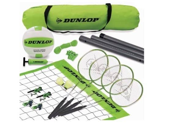 Dunlop Volleyball and Badminton Combo ONLY $14.39