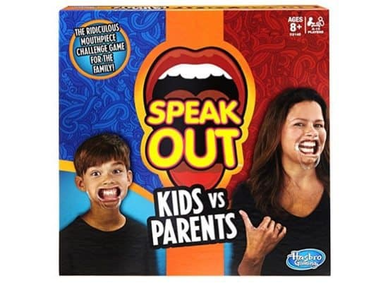 Speak Out Kids vs Parents Game $12.88