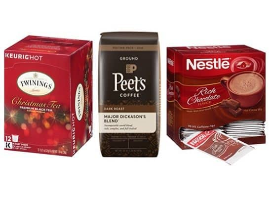 Up to 48% Off Coffee, Tea, & Cocoa ~ Peet's, Tully's, Twinings & More **Great Gift Ideas**