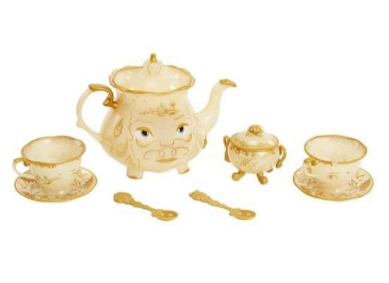 Disney Beauty & The Beast Live Action Enchanted Tea Set Playset Only $11.69