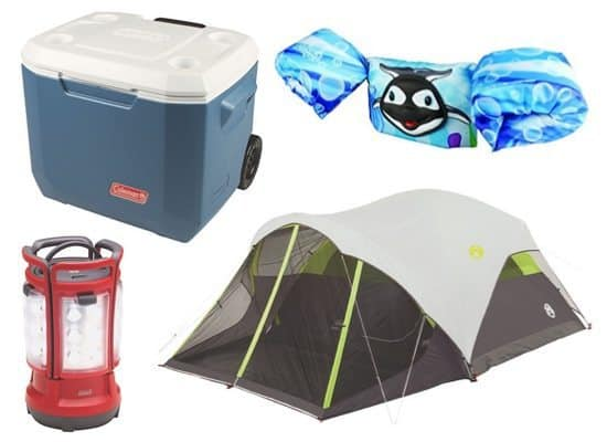 Up to 60% Off Camping and Swimming Gear - Prices as low as $10.12 **Today Only**