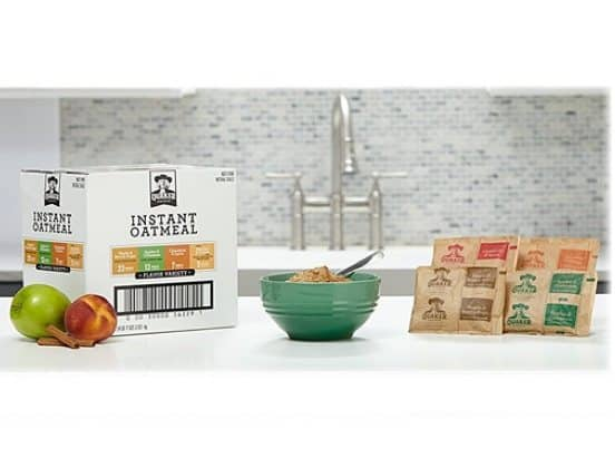 Quaker Instant Oatmeal Variety Pack 48 Count $7.43 Shipped **Only 15¢ Each**