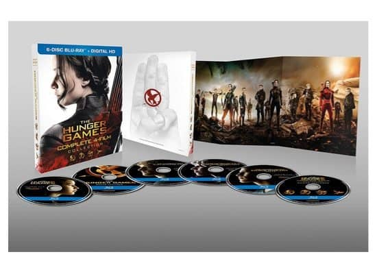 The Hunger Games: Complete 4 Film Blu-ray Collection Only $19.99