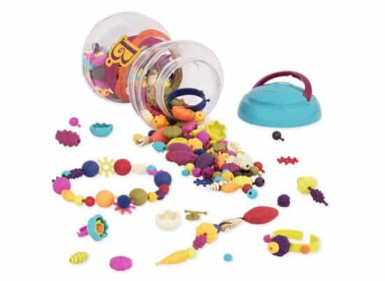 B. Pop Arty Snap Beads for Jewelry Making 300 Piece Set Only $8.43