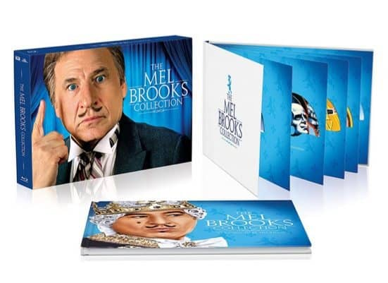 Mel Brooks Deluxe Collection on Blu-ray $26.99 (Was $100)