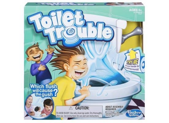 Hasbro Games Toilet Trouble Only $8.88 (Was $22) **Will Arrive By Christmas w/ Prime**
