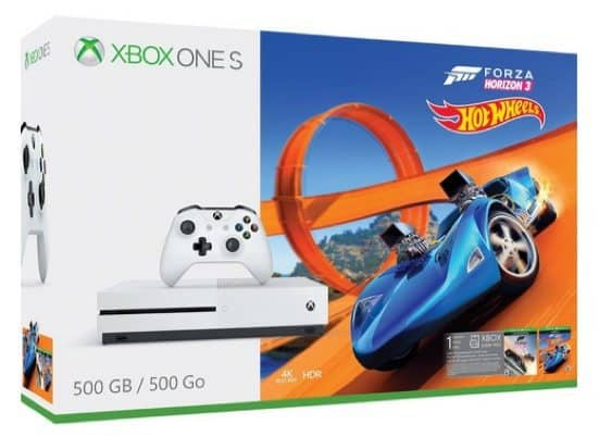 Xbox One S 500GB Console - Forza Horizon 3 Hot Wheels Bundle $199 (Was $280)