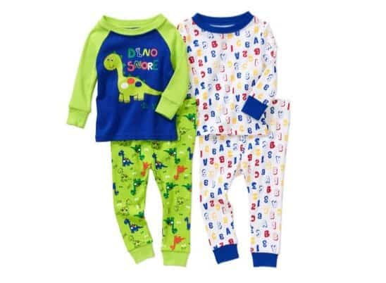 Baby Toddler 4 Piece Pajama Set Only $7.50!!