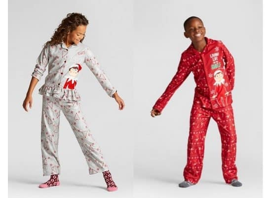 Target: 50% Off Elf on the Shelf Pajamas with Free Store Pickup Today