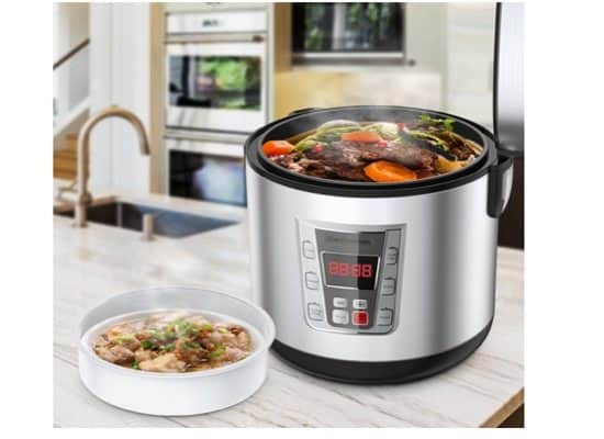 Elechomes 6-in-1 12-Cup Multi-Cooker $29.99