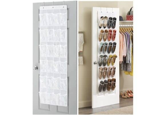 Whitmor Over the Door Shoe Organizer Only $3.99