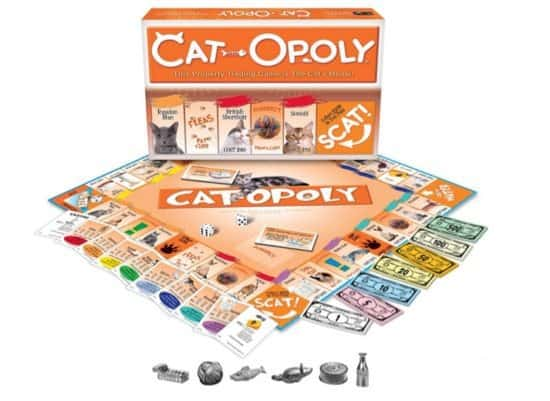 Cat-Opoly Game $17.99