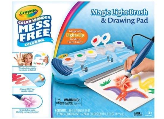 Crayola Color Wonder Magic Light Brush & Drawing Pad Only $11.99