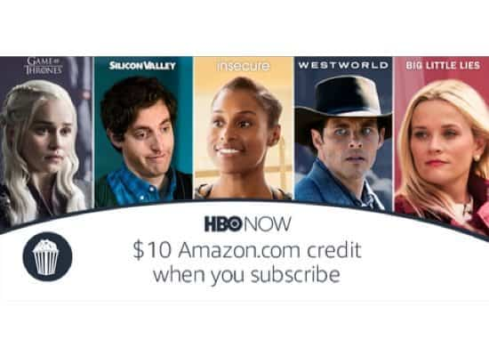 Amazon Digital Day: $10 Amazon.com Credit when you Subscribe to HBO NOW