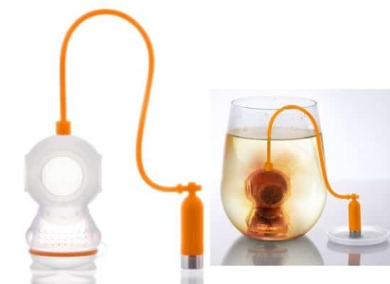 Fred Deep Tea Diver Silicone Tea Infuser Only $8.25
