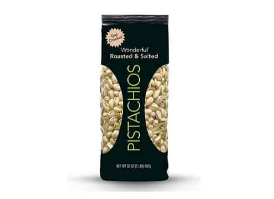 Wonderful Pistachios Roasted & Salted 32-oz Bag $9.86