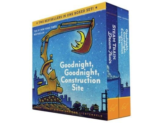 Goodnight Construction Site & Steam Train, Dream Train Board Books Boxed Set Only $8.39