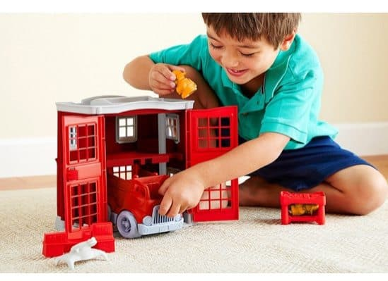 Green Toys Fire Station Playset $19.52 (Was $50)