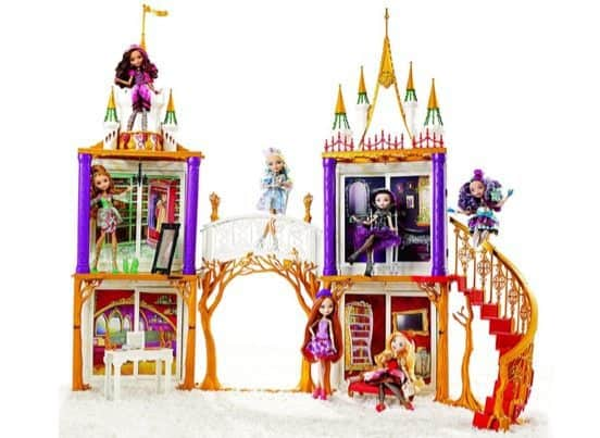 Ever After High 2-in-1 Castle Playset $23.90 (Was $100)