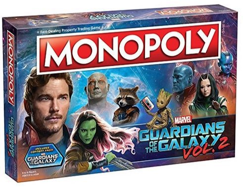 Guardians of the Galaxy Volume 2 Monopoly Game $20.97 (Was $44.95)