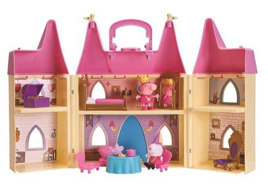Peppa Pig Princess Castle Playset ONLY $17