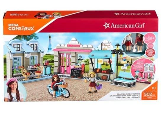 American Girl Mega Construx Grace's 2-In-1 Day in Paris $26 + BOGO 40% Off Mega Construx