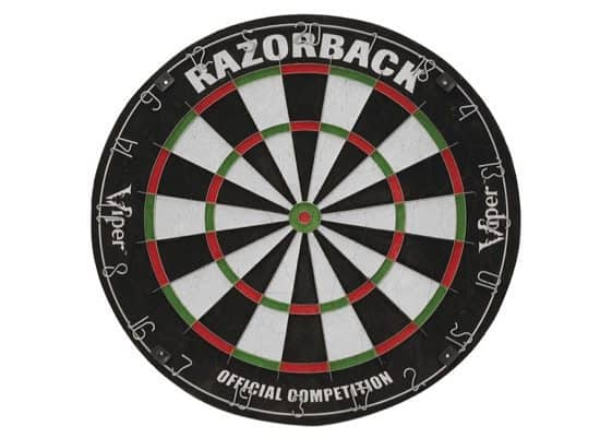 Up to 60% Off Game Room Essentials ~ Viper Razorback Dartboard $23.70 (Was $60)