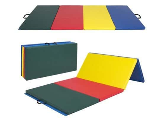 8' Folding Gymnastics Exercise Mat $79.94 (Was $249.95)