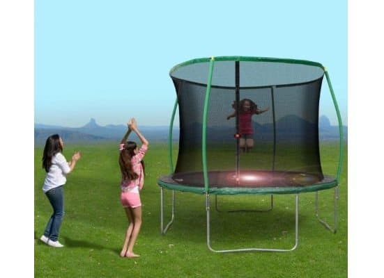 Bounce Pro 10' Trampoline with Flash Light Zone and Enclosure $58.47 (Was $119)