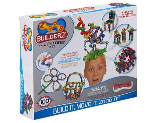ZOOB BuilderZ Inventor's Kit Only $11.78 ($32)