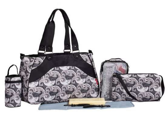 SoHo Designs 8 in 1 Diaper Bag Set Only $16.49