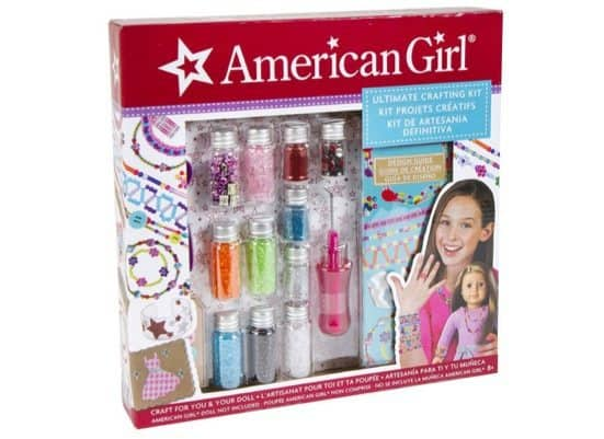American Girl Ultimate Crafting Kit Only $10.56 (Was $22)