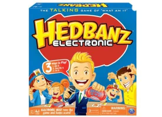 Hedbanz Electronic Card Game Only $4.97 (Was $19.97)