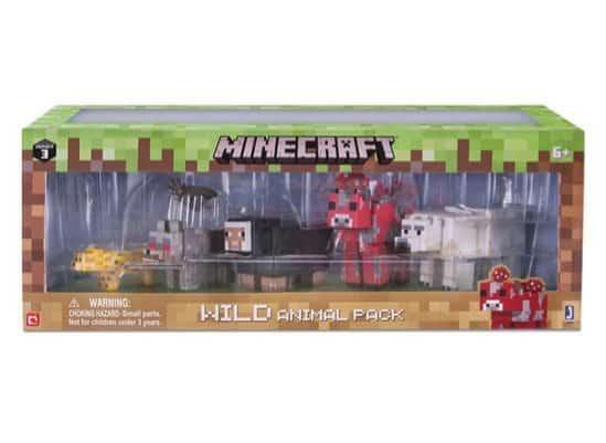 Minecraft Wild Animal 6-Pack Only $7.99 (Was $20)