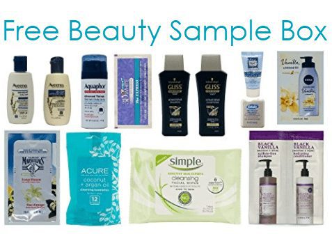 FREE Beauty Sample Box for Amazon Prime Members
