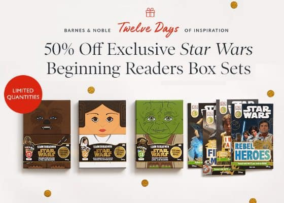 50% Off Star Wars Beginning Readers Box Sets **Today Only**