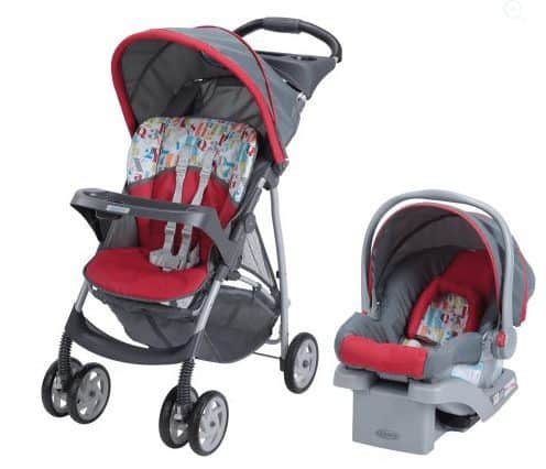 Graco LiteRider Click Connect Travel System, with Car Seat $80 (Was $150)