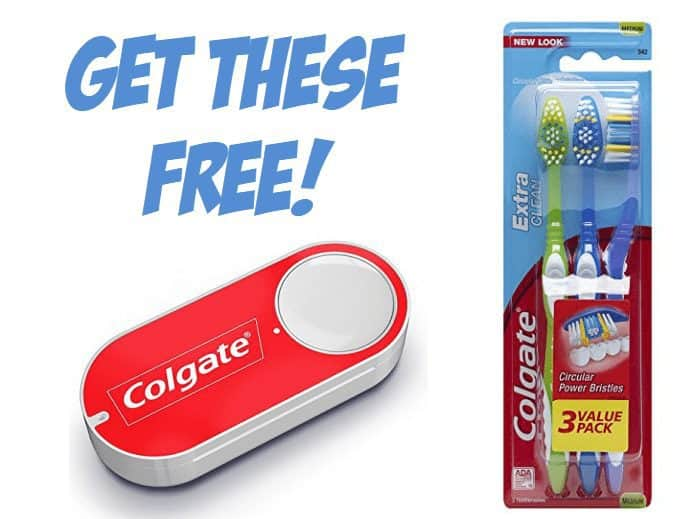FREE Colgate Toothpaste & Toothbrushes **Today Only**