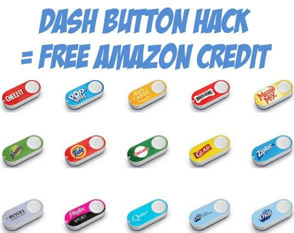 FREE $4 Amazon Credit Using This Awesome Dash Button Hack **New Button**