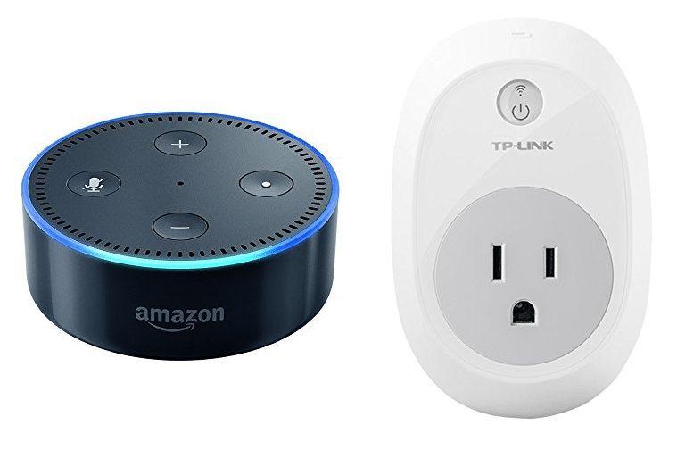 Amazon Echo Dot + TP-Link Smart Plug ONLY $35 Shipped