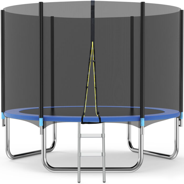 Famistar 10FT Trampoline with Safety Enclosure Net $239 (Was $700)